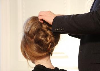 新娘髮型,髮型教學,新娘包頭,髮型,彩妝