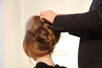 編髮包頭造型班