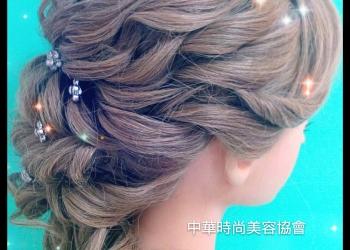 新娘髮型,髮型教學,韓風髮型,包頭髮型,彩妝